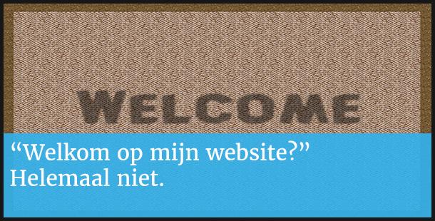 Welkom op website