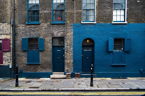 Blog onderwerpen: Blauwe muur