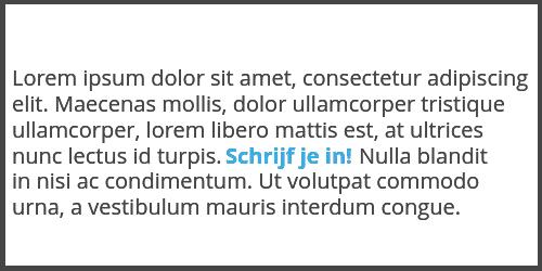 Anchor tekst voorbeeld