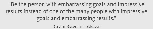 Minihabits Quote
